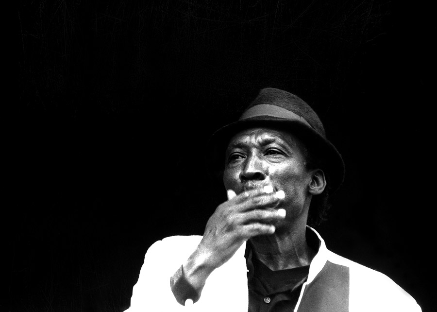 Alton Ellis photo Godfather of Rocksteady black and white picture by Floyd Celluloyd