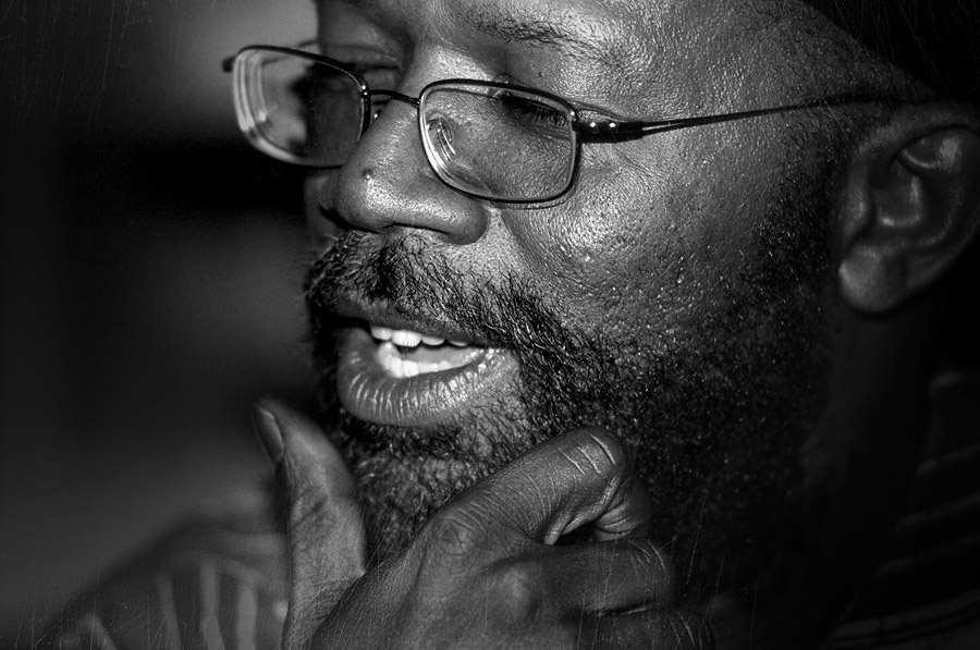 Photo Beres Hammond black and white by Floyd Celluloyd for Innermann