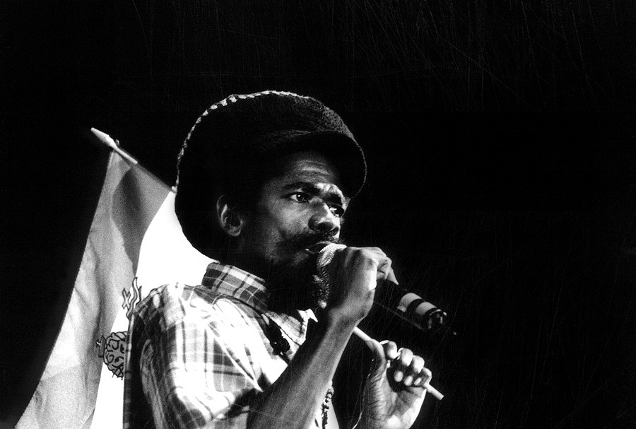 Cocoa Tea reggae photo black and white