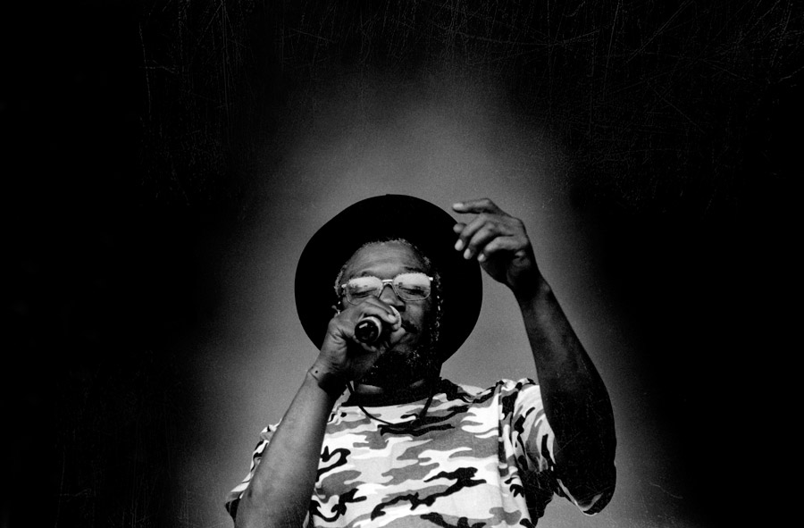 Photo of Horace Andy - picture made by Floyd Celluloyd for Innermann