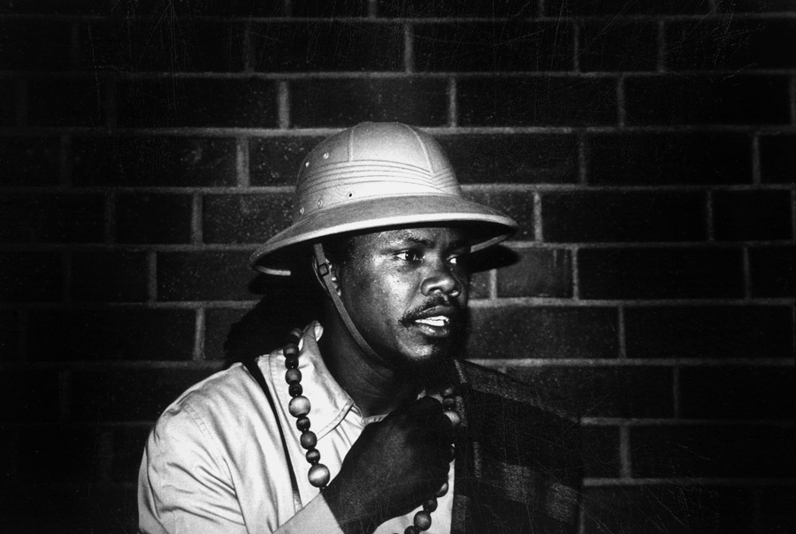 Luciano photo black and white by Floyd Celluloyd for Innermann - a decade of reggae photography