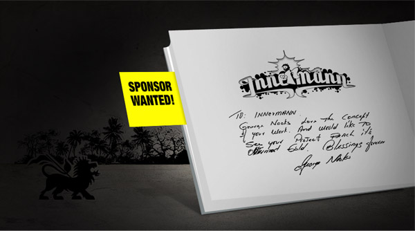 Reggae photo book searching for a Sponsor - Take action for Innermann